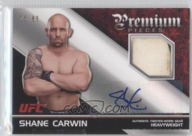 2012 Topps UFC Knockout [???] #APP-SC - Shane Carwin /88