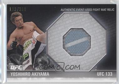 2012 Topps UFC Knockout [???] #FM-YA - Yoshihiro Akiyama /200