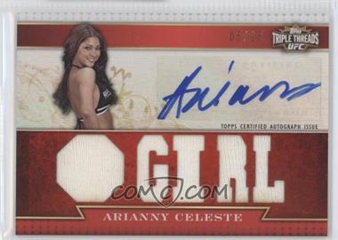2012 Topps UFC Knockout [???] #TTAR-AC - Arianny Celeste /18