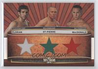 Kenny Florian, Rory MacDonald, Georges St-Pierre