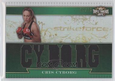 2012 Topps UFC Knockout [???] #TTR-CC - Cris Cyborg /18
