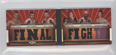 2012 Topps UFC Knockout [???] #TTRDC-LHHLCA - Chuck Liddell, Chris Lytle, Matt Hughes, Randy Couture, Matt Hamill, Ricardo Almeida