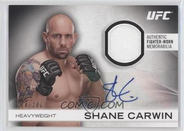 2012 Topps UFC Knockout Fight Gear Autographs #AFG-SC - Shane Carwin /200
