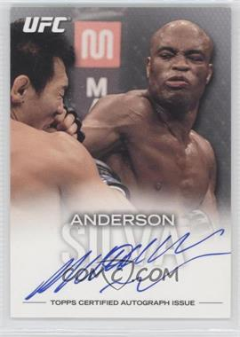 "2012 Topps UFC Knockout Fighter Autographs #FA-ASI - Anderson ""The Spider"" Silva (Anderson Silva) /75"