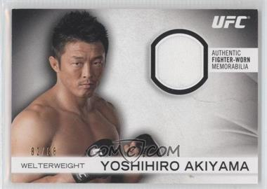 2012 Topps UFC Knockout Fighter-Worn Memorabilia #FG-YA - Yoshihiro Akiyama /88