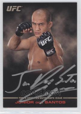 2012 Topps UFC Knockout Full-Contact Autographs #FC-JDS - Junior Dos Santos /99