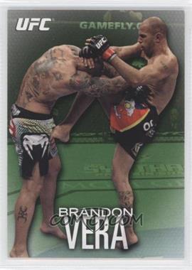 2012 Topps UFC Knockout Green #44 - Brandon Vera /88