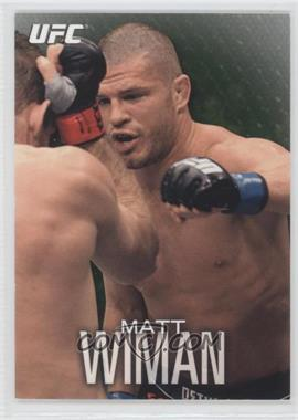 2012 Topps UFC Knockout Green #6 - Matt Wiman /88