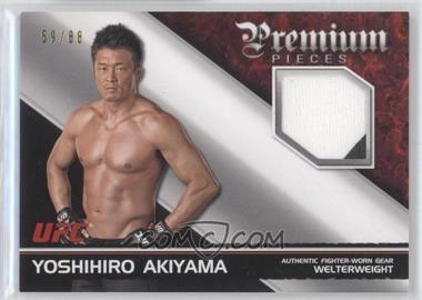 2012 Topps UFC Knockout Premium Pieces Relics #PP-YA - Yoshihiro Akiyama /88