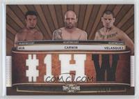 Frank Mir, Shane Carwin, Cain Velasquez /27