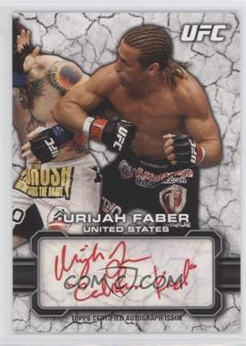 2013 Topps UFC Bloodlines - Fighter Autographs - Red Ink #FA-UF - Urijah Faber /15