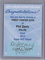 Phil Davis [REDEMPTION Being Redeemed]