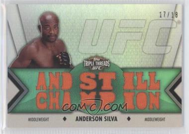 "2013 Topps UFC Knockout [???] #TTR-1 - Anderson ""The Spider"" Silva (Anderson Silva) /18"