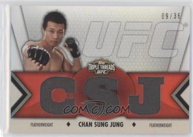 2013 Topps UFC Knockout [???] #TTR-CJ2 - Chan Sung Jung