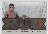 Sam Stout /27