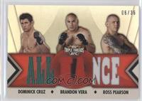 Dominick Cruz, Brandon Vera, Ross Pearson /36