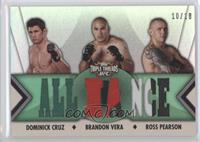 Dominick Cruz, Brandon Vera, Ross Pearson /18