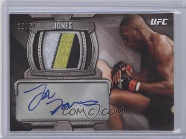 2014 Topps UFC Knockout Knockout Autographed Relic #KAR-JJ - Jon Jones /50