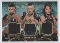 Brandon Thatch, Conor McGregor, Jessica Eye /18