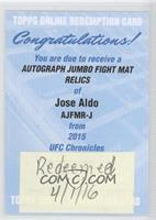 Jose Aldo [REDEMPTION Being Redeemed]