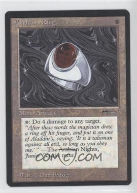 1993 Magic: The Gathering - Arabian Nights Booster Pack [Base] #NoN - Aladdin's Ring