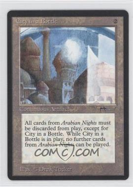 1993 Magic: The Gathering - Arabian Nights Booster Pack [Base] #NoN - City in a Bottle