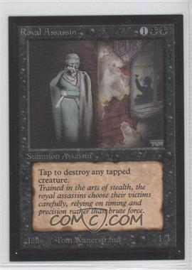 1993 Magic: The Gathering - Collectors' Edition Non-Playable Gold Backs [Base] #N/A - Royal Assassin