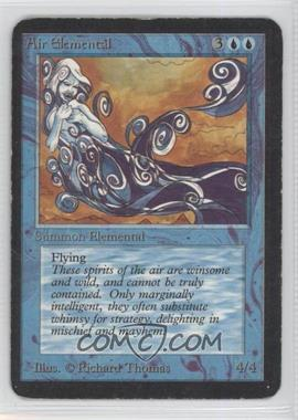 1993 Magic: The Gathering - Core Set: Alpha Booster Pack [Base] #NoN - Air Elemental