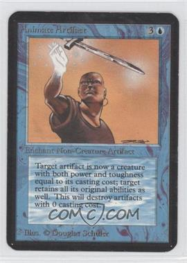1993 Magic: The Gathering - Core Set: Alpha Booster Pack [Base] #NoN - Animate Artifact