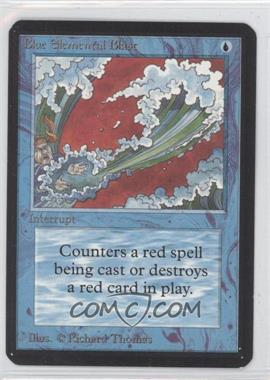 1993 Magic: The Gathering - Core Set: Alpha Booster Pack [Base] #NoN - Blue Elemental Blast