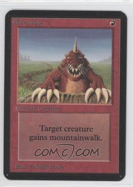 1993 Magic: The Gathering - Core Set: Alpha Booster Pack [Base] #NoN - Burrowing