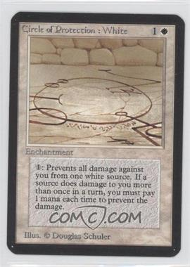 1993 Magic: The Gathering - Core Set: Alpha Booster Pack [Base] #NoN - Circle of Protection: White