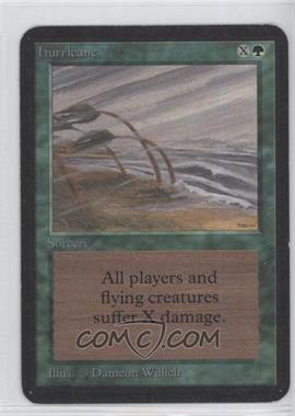 1993 Magic: The Gathering - Core Set: Alpha Booster Pack [Base] #NoN - Hurricane