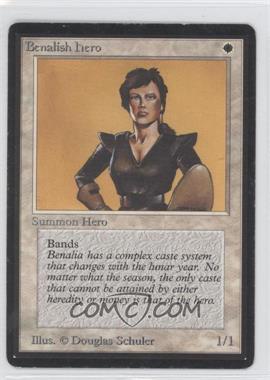 1993 Magic: The Gathering - Core Set: Beta - Booster Pack [Base] #NoN - Benalish Hero