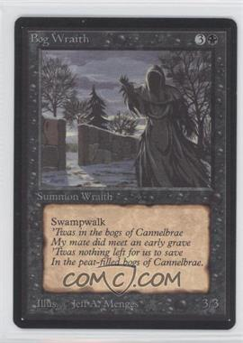 1993 Magic: The Gathering - Core Set: Beta - Booster Pack [Base] #NoN - Bog Wraith