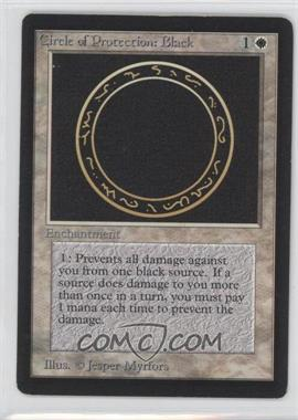 1993 Magic: The Gathering - Core Set: Beta - Booster Pack [Base] #NoN - Circle of Protection: Black