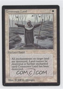 1993 Magic: The Gathering - Core Set: Beta - Booster Pack [Base] #NoN - Consecrate Land
