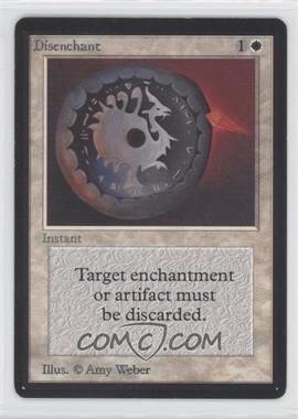 1993 Magic: The Gathering - Core Set: Beta - Booster Pack [Base] #NoN - Disenchant