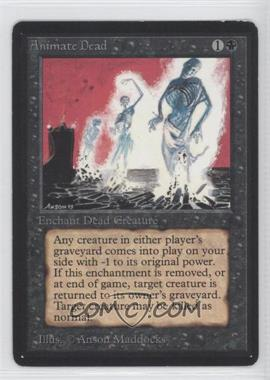 1993 Magic: The Gathering - Core Set: Beta Booster Pack [Base] #NoN - Animate Dead