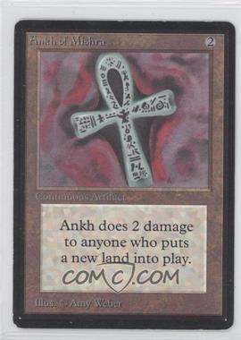1993 Magic: The Gathering - Core Set: Beta Booster Pack [Base] #NoN - Ankh of Mishra