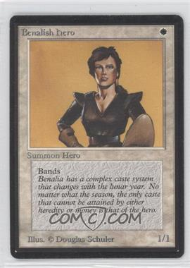 1993 Magic: The Gathering - Core Set: Beta Booster Pack [Base] #NoN - Benalish Hero