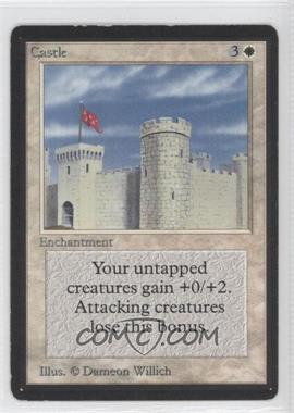 1993 Magic: The Gathering - Core Set Beta Booster Pack [Base] #NoN - Castle