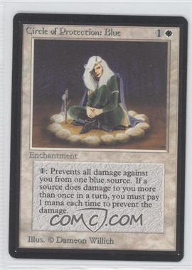1993 Magic: The Gathering - Core Set: Beta Booster Pack [Base] #NoN - Circle of Protection: Blue