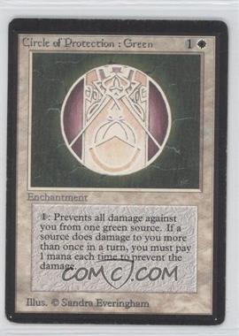 1993 Magic: The Gathering - Core Set: Beta Booster Pack [Base] #NoN - Circle of Protection: Green