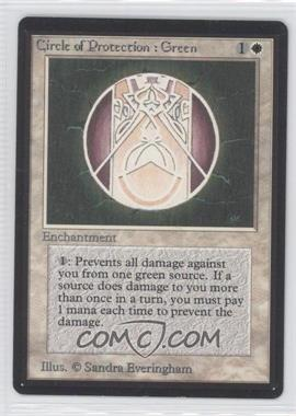 1993 Magic: The Gathering - Core Set Beta Booster Pack [Base] #NoN - Circle of Protection: Green
