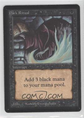 1993 Magic: The Gathering - Core Set: Beta Booster Pack [Base] #NoN - Dark Ritual