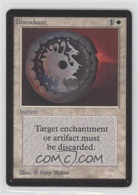1993 Magic: The Gathering - Core Set: Beta Booster Pack [Base] #NoN - Disenchant