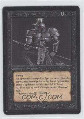 1993 Magic: The Gathering - Core Set Beta Booster Pack [Base] #NoN - Hypnotic Specter