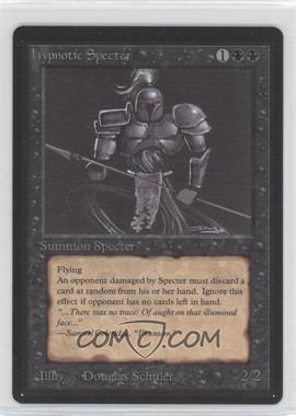 1993 Magic: The Gathering - Core Set: Beta Booster Pack [Base] #NoN - Hypnotic Specter