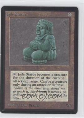 1993 Magic: The Gathering - Core Set: Beta Booster Pack [Base] #NoN - Jade Statue